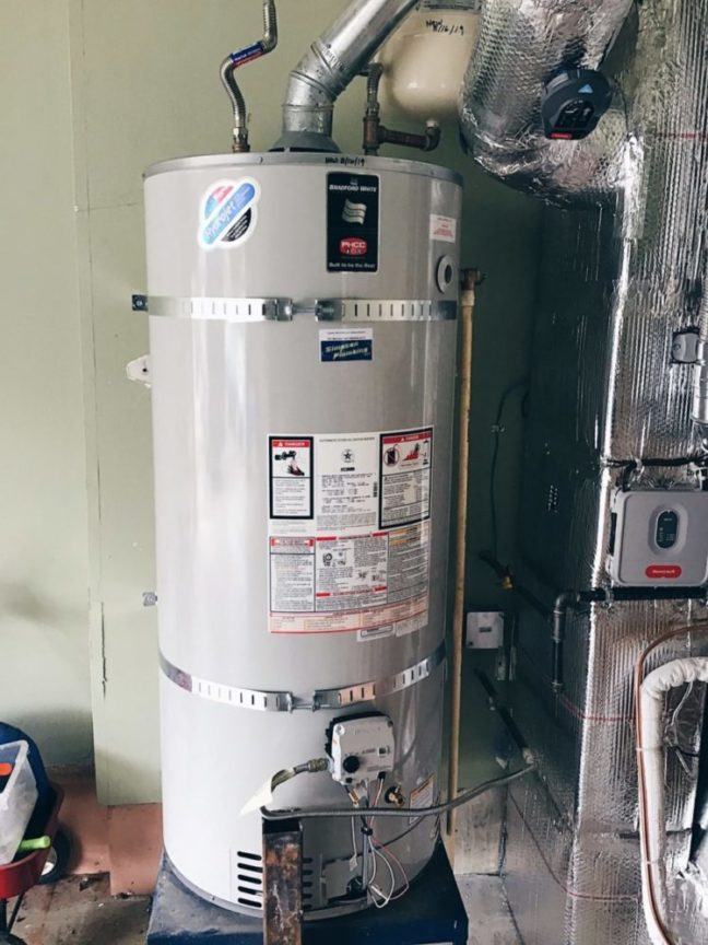 Water Heater in Vancouver Home