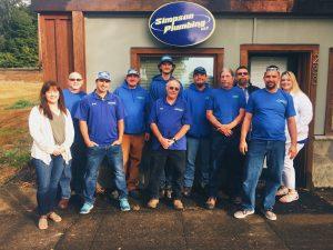 simpson plumbing team