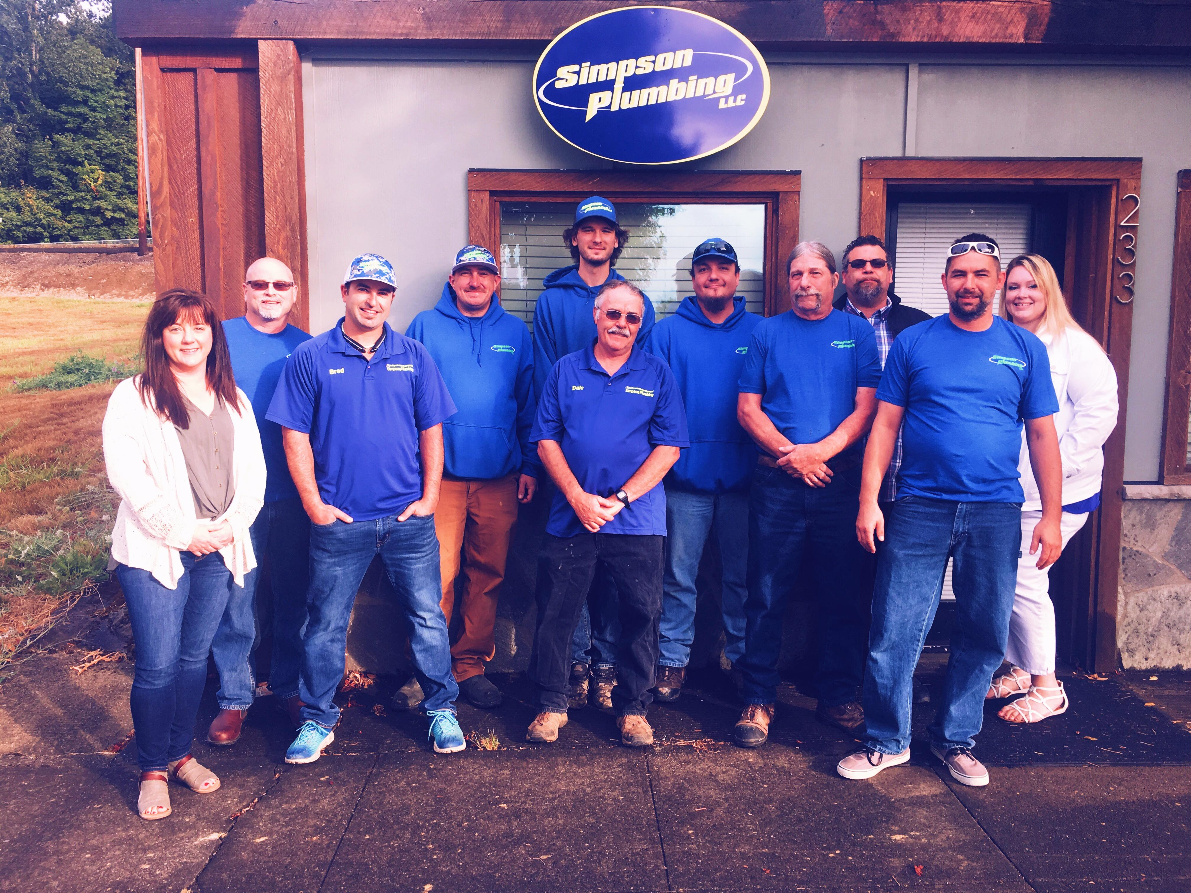 simpson plumber in vancouver wa