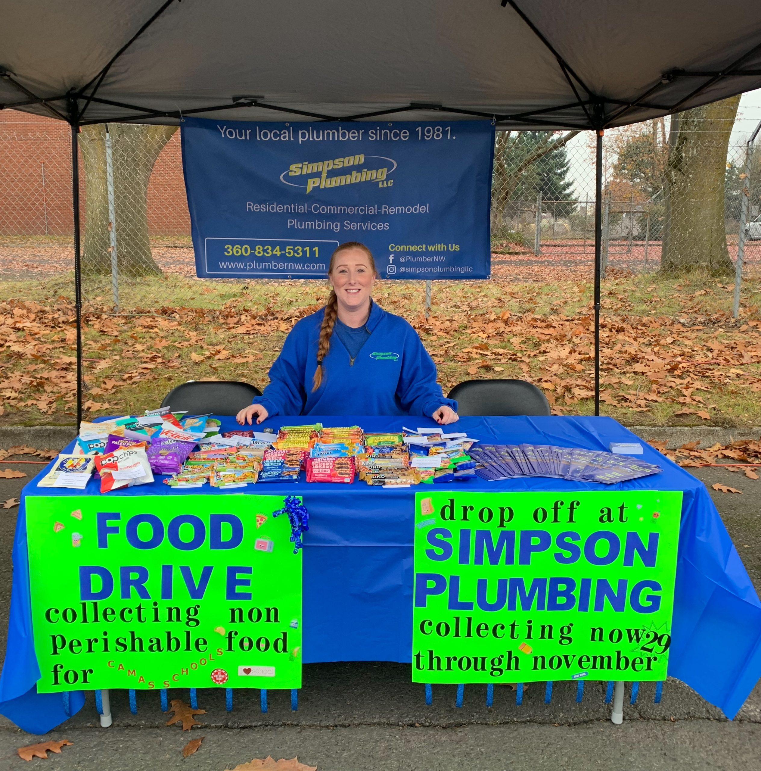 Simpson Plumbing Employees Volunteering