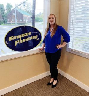 Emily - Simpson Plumbing's Service Titan Specialist