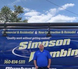 Kenny - Simpson Plumbing Plumber
