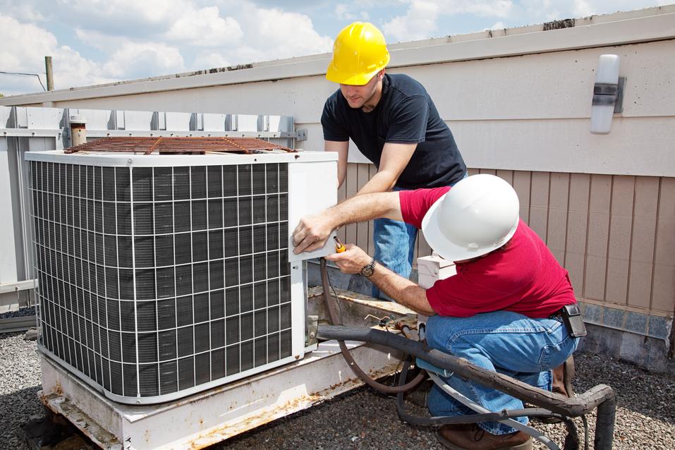 HVAC service for air conditioner