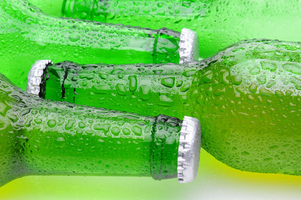 condensation on bottle