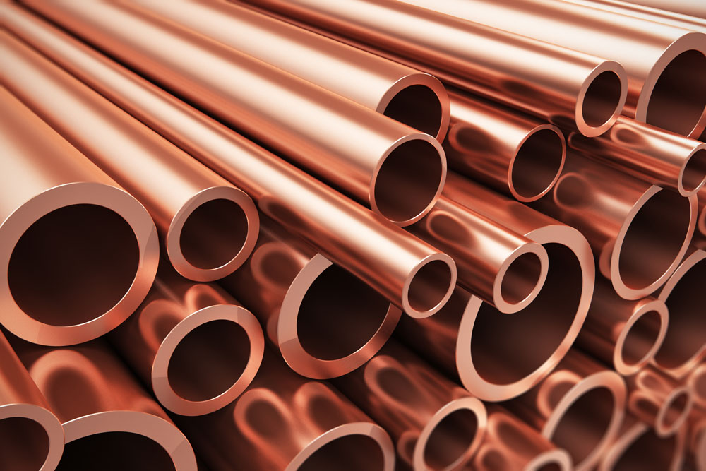 copper pipe installation and replacement