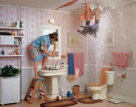 plumbing disaster