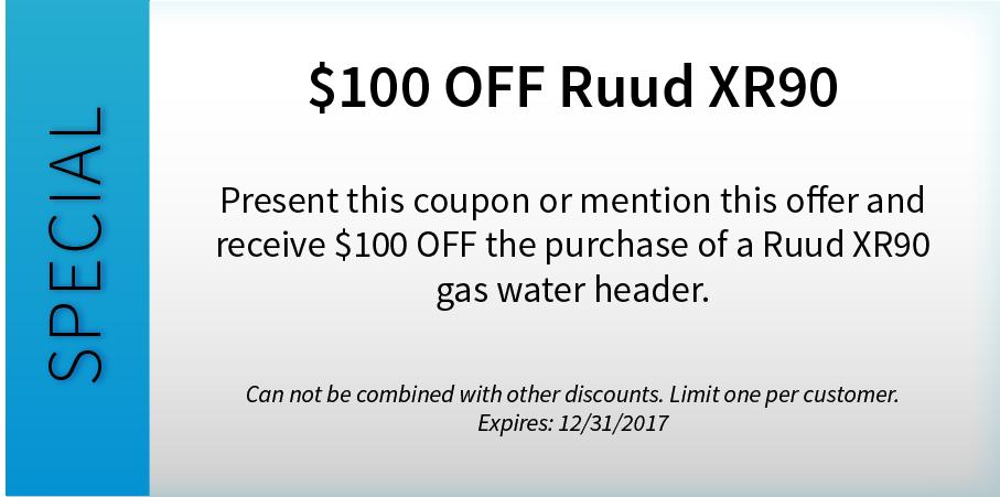 $100 OFF Ruud XR90