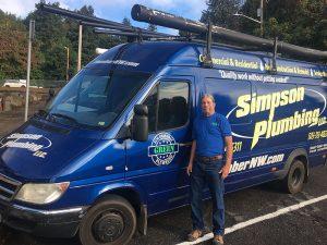 simpson plumbing in vancouver wa & camas wa