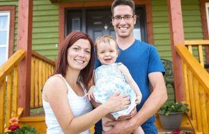 Family happy with Simpson Plumbing services