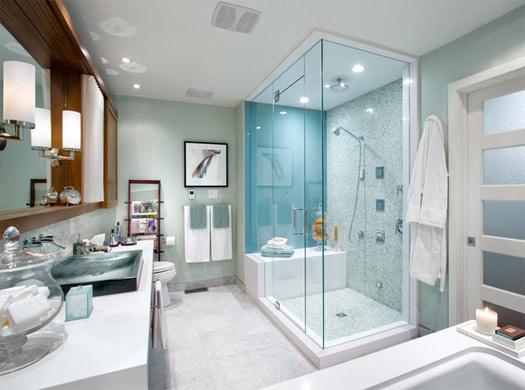 spa bathroom new plumbing job