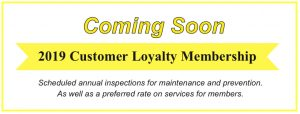 customer loyalty coupon from simpson plumbing